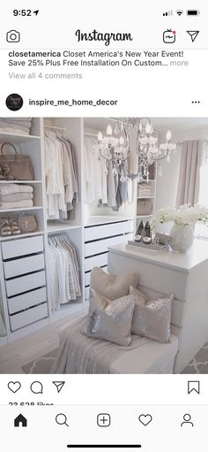 Bedroom Into Dressing Room, Closet, Inspiration, Ideas, Home Decor, Cloakroom Basin, Biblical Inspiration, Armoire, Decoration Home