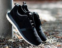Nike Roshe Run NM – Black/Dark Magnet Grey/Sail