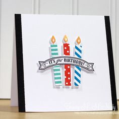 For Muse Card Club Challenge #122 using @papertreyink Make it Market Kit: Party Pops #musecardclub #papertreyink #birthday