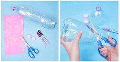 Une belle façon de récupérer les bouteilles en plastique!