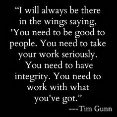Project Sewn Tim Gunn quote