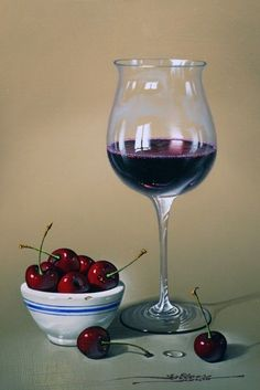 RED-WINE-AND-CHERRIES-FEB-2014 Javier Mulio