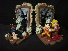 Mighty Mouse Vs. Oil Can Harry - Brick Wall Breaker (Saving Pearl Pureheart) Collectible Bookends by Mighty Mouse. $59.99. Ready to Save the day, or at least keep your books in place??  These Mighty Mouse bookends are authentic vintage pieces of Mighty Mouse memorabilia. They were found forgotten beneath a soundstage at Paramount Studios after having been stored away for many years. Still in their original packaging, these Mighty Mouse collectables are a one-of-...