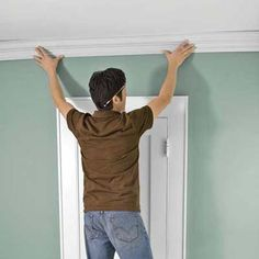 Add Crown Molding the Easy Way