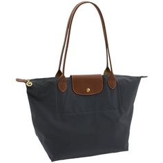 Longchamp 'Le Pliage - Large' Tote Bag ($145) ❤ liked on Polyvore