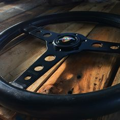 Classic early Momo prototipo steering wheel