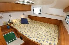 Love yellow decor on a sailboat! http://www.sailboat-interiors.com/ http://www.sailboat-interiors.com/store
