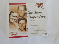 Frank Sinatra Bing Crosby Perry Como Christmas Superstars 3 CD Box Set Music #Christmas