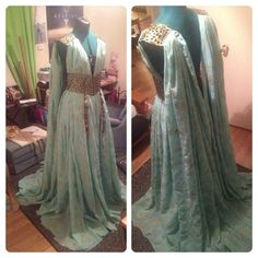 Daenerys Targaryen Qarth Gown Progress! by KatieFlemingCosplay