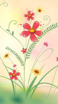 Wallpapersflowersiphone