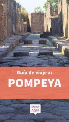 Guía de viaje a Pompeya en Italia. Esta ciudad fue enterrada por las cenizas del volcán Vesubio hace cientos de años; hoy podemos ver sus ruinas e imaginar como vivían en esa época. Encuentra aquí que hacer, que ver, como llegar, donde dormir, que comer, como moverse, clima, y mucho más. Wish I Was There, Trip Advisor, Travel Advisor, Places Ive Been, Places To Visit, Around The Worlds, Wanderlust, The Incredibles, Italy