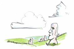 What Happened On Easter Island — A New (Even Scarier) Scenario : wonderful lesson here