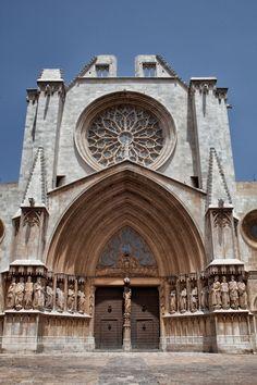 Catedral de TARRAGONA. Gótico de transición. XII.