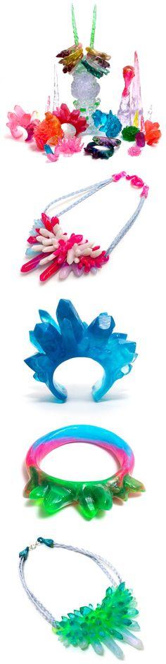kate rohde - resin jewelry