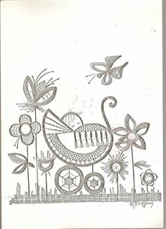 Bobbin Lace Patterns, Embroidery Patterns, Bobbin Lacemaking, Point Lace, Needle Lace, Lace Making, String Art, Quilling, Tatting