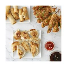 Williams-Sonoma Asian Appetizer Sampler ($80) ❤ liked on Polyvore featuring home, kitchen & dining, kitchen gadgets & tools and appetizer skewers