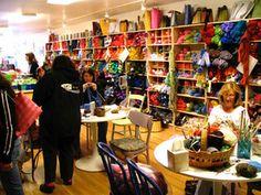 Knitty: Una gran tienda de hilo en el barrio, en el Upper West Side de Nueva York