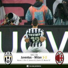 3-2 juve - milan Milan, Juventus Fc, Football, Baseball Cards, Sports, 3, Soccer, Hs Sports, Futbol