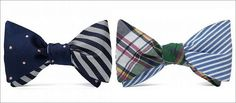 Brooks Brothers x Social Primer. Reversible Bow Tie