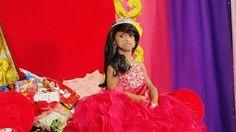 Ana Rochelle Pondare mengenakan gaun saat perayaan ulang tahunnya ke-18. - Daily Mail