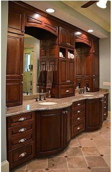 love this double vanity for the bathroom