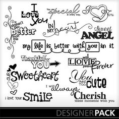 MyMemories digital scrapbooking kits - You Word Art Scrapbook Stickers, Scrapbook Paper Crafts, Scrapbook Supplies, Scrapbook Pages, Scrapbooking, Fonts Quotes, Sign Quotes, Art Quotes, Poem Quotes