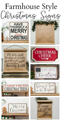 This page is chock full of farmhouse christmas decor ideas, christmas signs, and christmas decoration ideas. I hope this helps you too and maybe gives you a few ideas of your own home! Christmas Farm, Days Until Christmas, Farmhouse Christmas Decor, Merry Little Christmas, Rustic Christmas, Winter Christmas, All Things Christmas, Christmas Holidays, Christmas Crafts