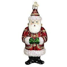 Bohemian Santa #40092 Merck Old World Ornament