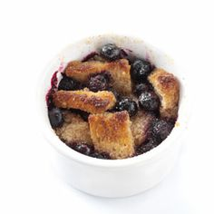 Cinnamon-Toast Blueberry Bakes Recipe from Taste of Home