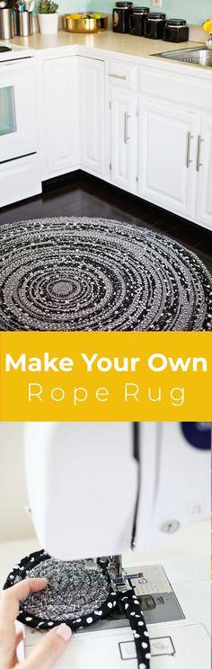 Rope rug DIY