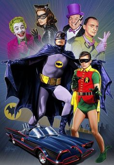 Adam West is the best Batman. Fact.