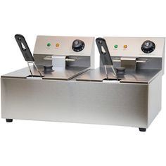 Value Series FRY-12-120 20 Lb. Oil Capacity Countertop Fryer