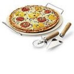 Sandra By Sandra Lee 4 Pc Pizza Stone Set * Check this awesome image : Baking pans