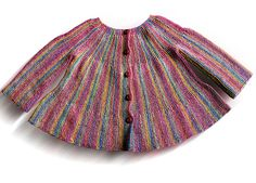 """Very cute ......Ravelry: b16-3 Jacket knitted from side to side, socks, and hat in """"Fabel"""" pattern by DROPS design"""
