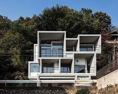Architektur: Ein Haus aus Stahlbetonboxen   KlonBlog
