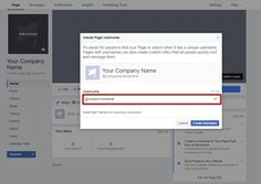 How to Setup an Effective Facebook Business Page Create Page, The Right Stuff, Facebook Business, Business Pages, Company Names, Internet Marketing, Bar Chart, Insight, Finding Yourself