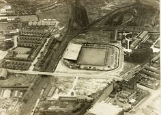 This is how @manutd's home looked in the 1930s. A lot has changed at Old Trafford since then!