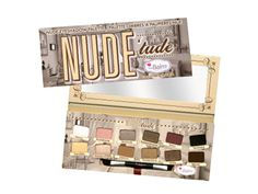 Our staff members love the Nude 'Tude Eyeshadow Palette from the Balm! $36