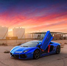 Chrome Blue | Lamborghini Aventador