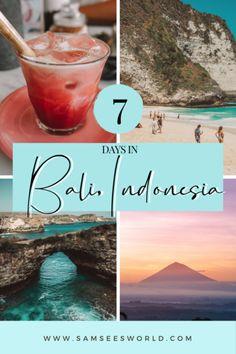 Ultimate guide to Bali, Indonesia. Nusa Penida, Uluwatu, Seminyak, Ubud and more! The best Bali travel guide. #Travel #Bali #Indonesia Bali Travel Guide, Asia Travel, Travel Guides, Travel Tips, Nusa Ceningan, See World, Countries To Visit, Celebrity Travel, Honeymoon Destinations