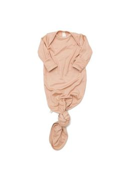 ribbed knotted sleeper in 'bloom' modal – Childhoods Clothing Newborn Outfits, Boy Outfits, Cute Outfits, Baby Kids Clothes, Bloom, Comfy, Baby Style, Nursery Ideas, Clothing