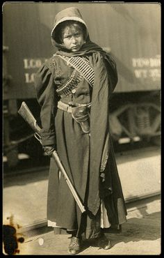 Soldadera (Mexican Revolution, c. 1913)