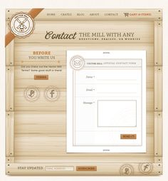 Web form on Vector Mill