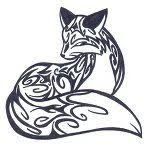 henna style fox - Google Search