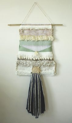 Large Woven Tapestry Wall Hanging by ShaleneLorraine on Etsy