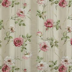 colefax u0026 fowler shabby wisteria stripes embroidered linen fabric 10 yards rose linen fabric and wisteria
