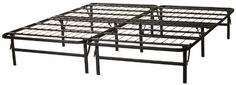 Structures by Malouf HIGHRISE Folding Metal Bed Frame 14 High Bi-Fold Platform Bed Base and Box Spring by Structures, http://www.amazon.ca/dp/B000ZQCJUS/ref=cm_sw_r_pi_dp_7dmjsb18PXJ08/188-0508216-7836827