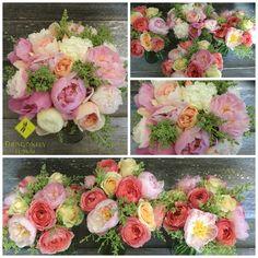 Dragonfly Floral Bouquets - June 11, 2015 - #dragonflyfloral #junebride #peonybouquet #healdsburgwedding Peonies Bouquet, Floral Bouquets, Floral Wreath, June Events, June Bride, My Little Girl, Wreaths, Flowers, Wedding