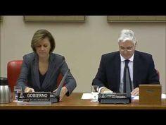 Comparecencia Dolores Cospedal ministra Defensa en Comisión Congreso Dip...
