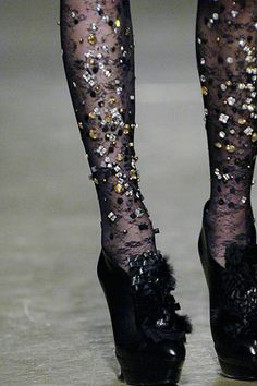 Sequins tights!